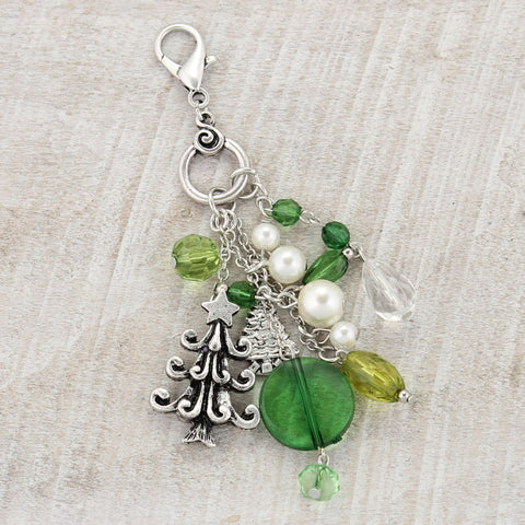 Green Tree Clip-It Pendant
