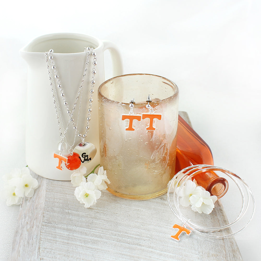 Tennessee Enamel Logo Earrings