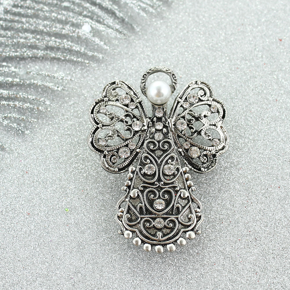 Filigree Angel Pin/Pendant