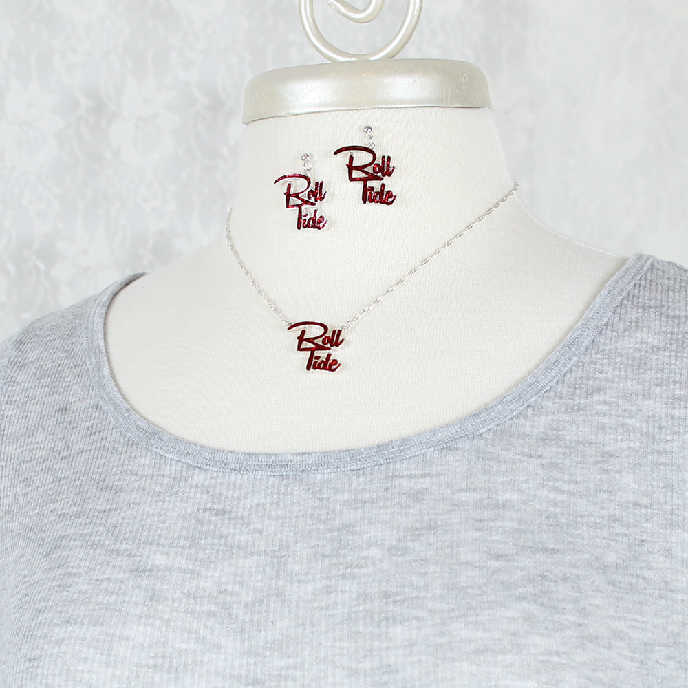 Alabama Slogan Necklace