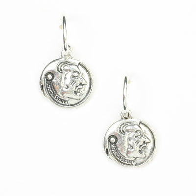 Seasons Jewelry Florida State Logo Hoop Earring