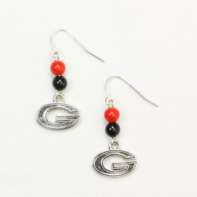 Seasons Jewelry Georgia Wire Logo Earring