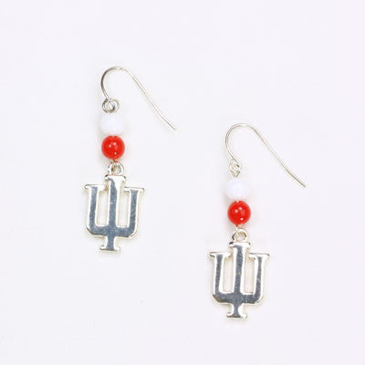 Seasons Jewelry Indiana Wire Logo Earring