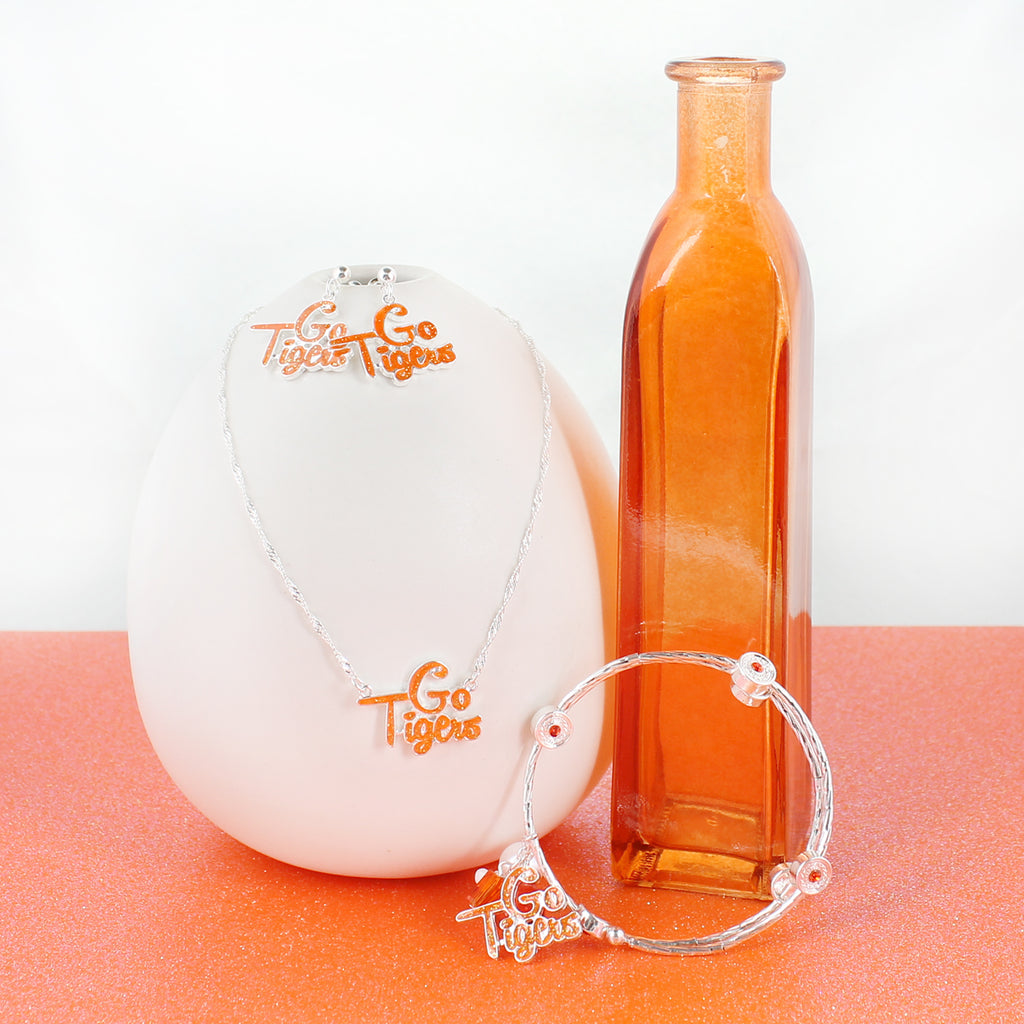 Clemson Slogan Necklace