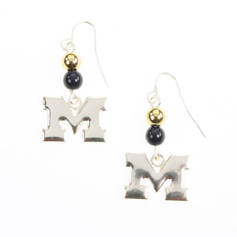 Seasons Jewelry Michigan Logo Earrings