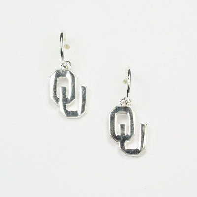 Seasons Jewelry Oklahoma Logo Hoop Earring