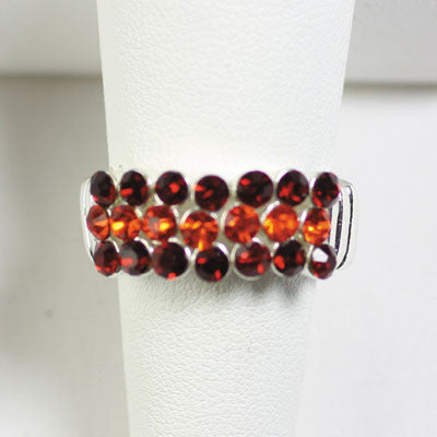 Seasons Jewelry Virginia Tech Crystal Ring