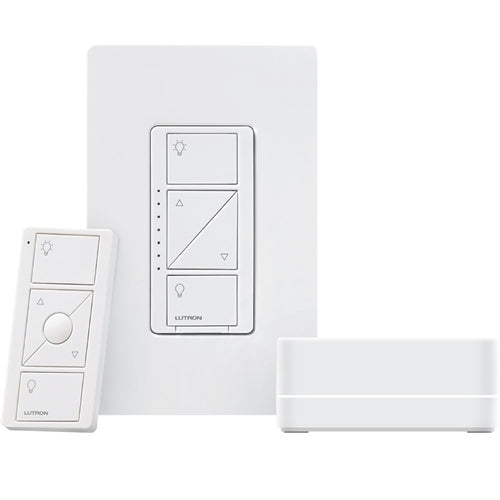 P-BDG-PKG1W Caséta Wireless in-wall dimmer, Smart Bridge, and Pico remote control kit - MojoControls.com