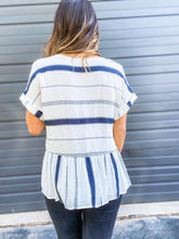 Load image into Gallery viewer, Say So Striped Top