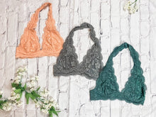 Load image into Gallery viewer, Lace Halter Bralette