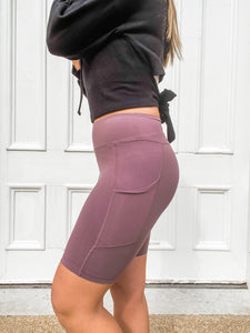 Blissful Biker Shorts