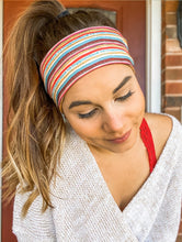 Load image into Gallery viewer, Colorful Striped Headband