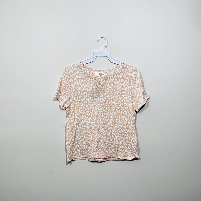 T-shirt Rose Cheetah