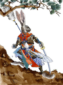 Samurai Rabbit original art