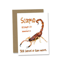 Load image into Gallery viewer, Zodiac Greeting Card