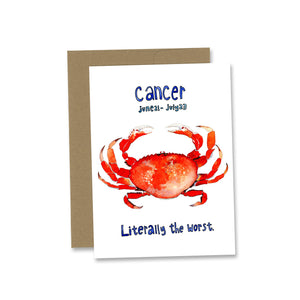 Zodiac Greeting Card