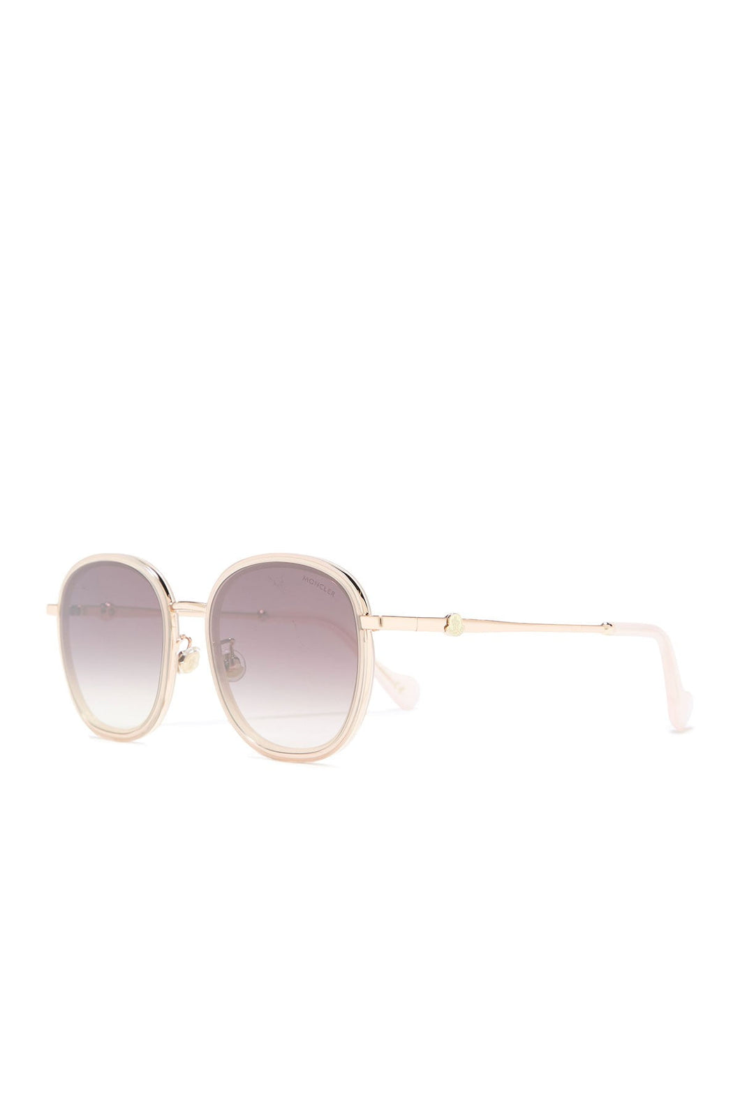 Moncler Round Sunglasses 57mm Rose