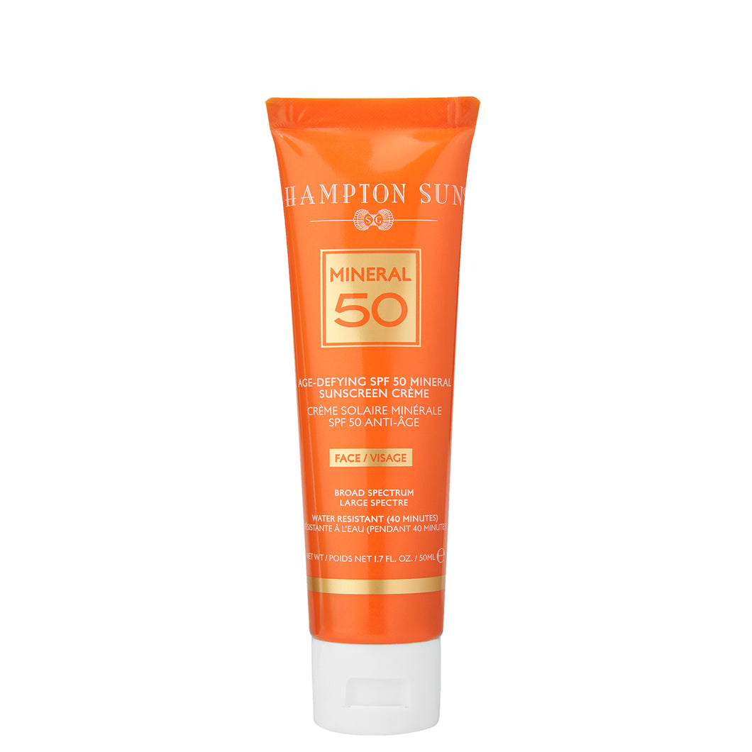 SPF 50 Mineral Face Creme