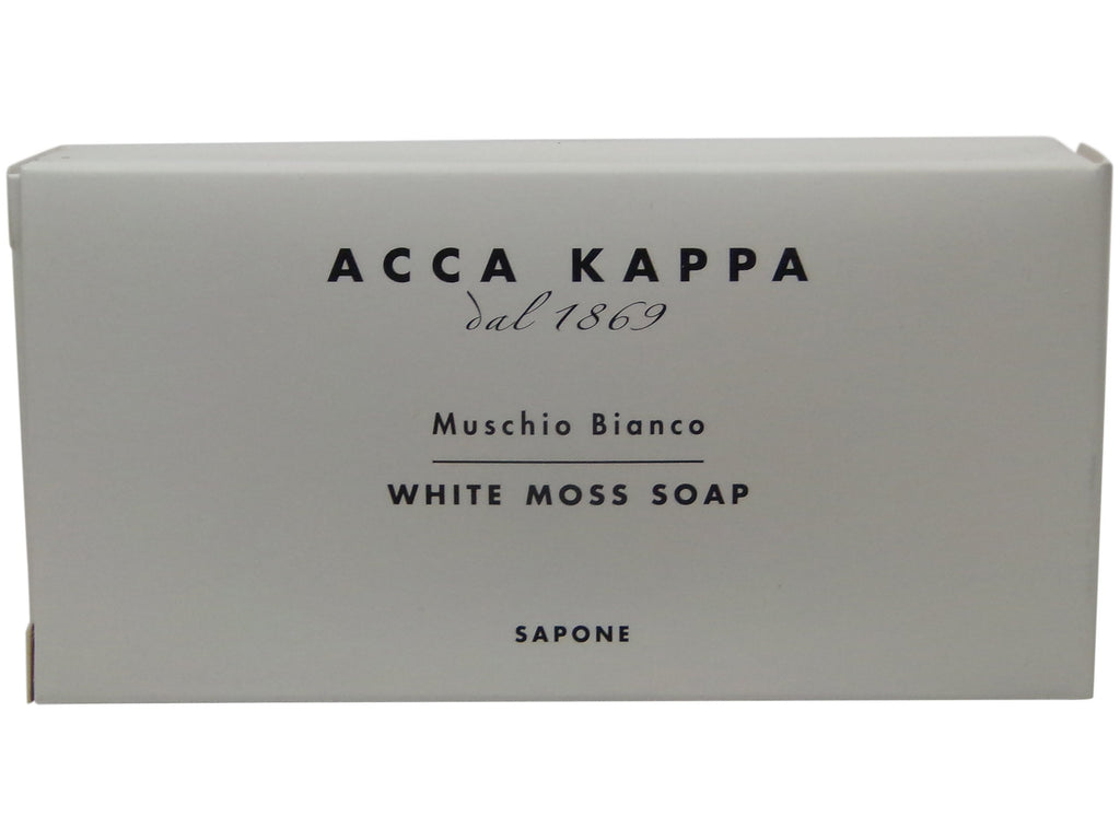 Acca Kappa White Moss Soap 50 gr Bars - Set of 3