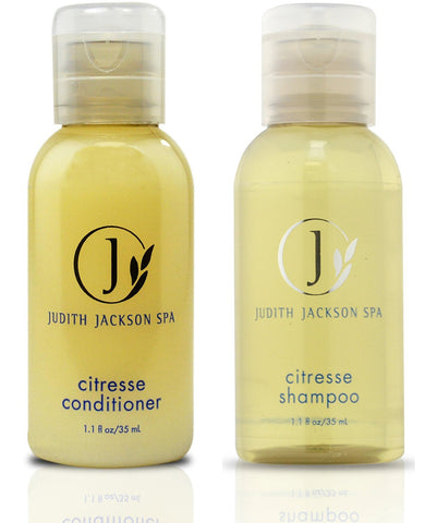 Judith Jackson Spa Citresse Conditioner and Shampoo Lot of 18 (9 of Each) 1.1oz Bottles