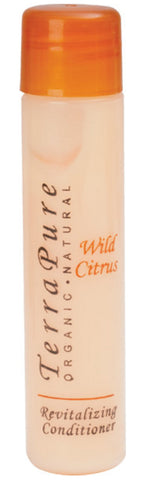Terra Pure Wild Citrus Revitalizing Conditioner Lot of 18 each 1oz Bottles