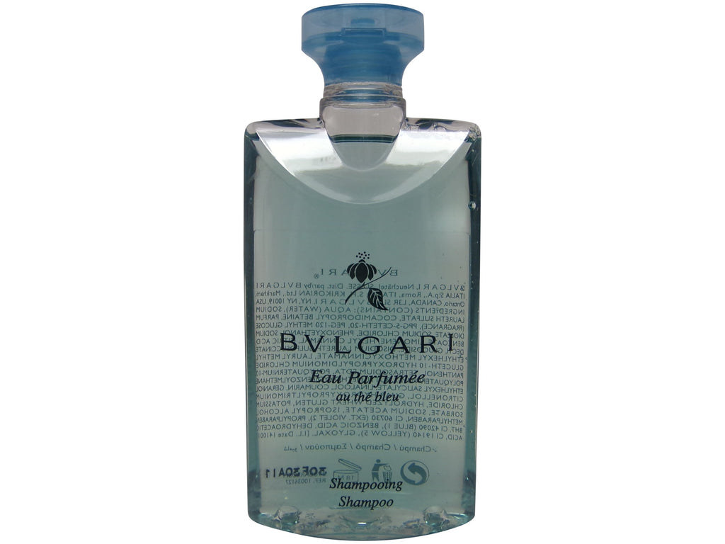 Bvlgari Eau Parfumee Blue Tea Shampoo, 2.5 oz. Set of 3