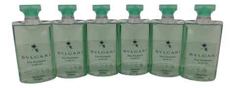 Bvlgari au the vert (green tea) shampoo 2.5oz Set of 6