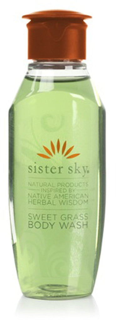Sister Sky Sweet Grass Body Wash lot of 14 each 1oz bottles
