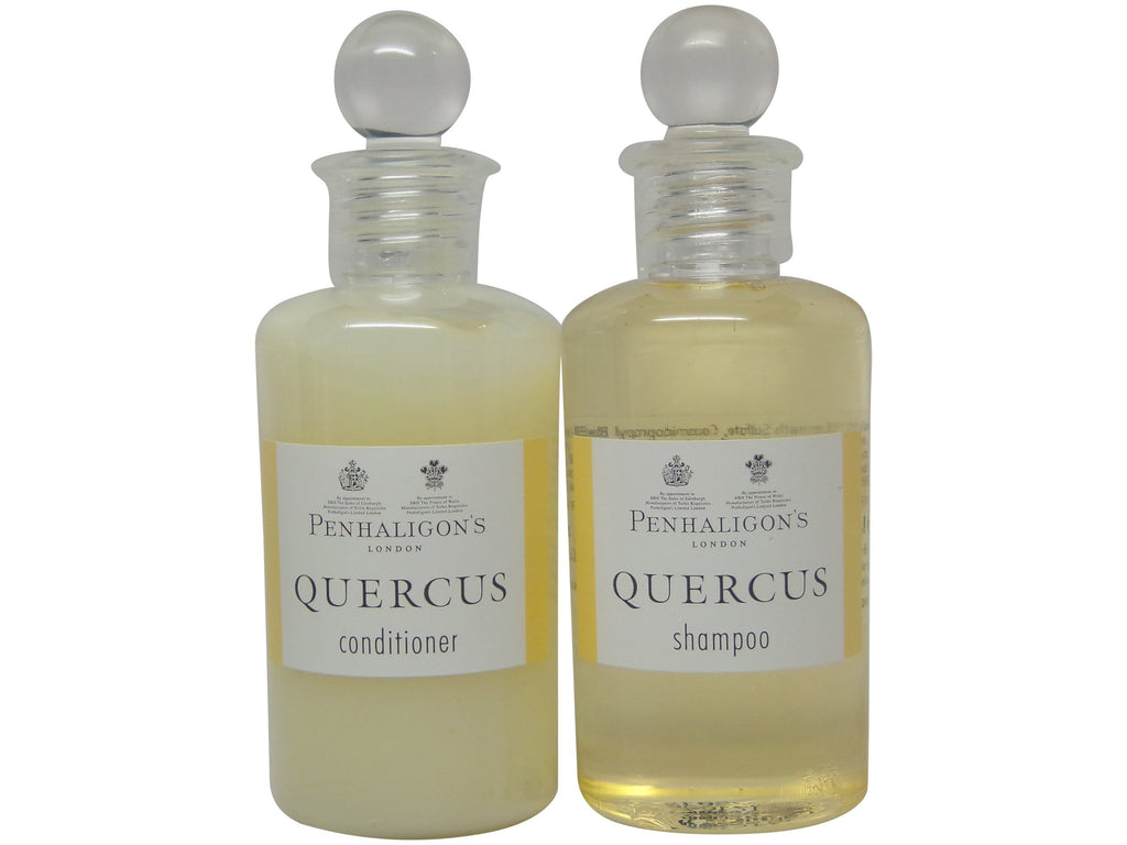 Penhaligons Quercus Shampoo & Conditioner lot of 4 (2 each 3.4oz Bottles)