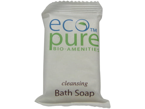 Eco Pure cleansing Bath Soap Lot of 18 each 1oz Bars