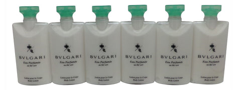 Bvlgari au the vert Green Tea Body Lotion lot of 6 each 2.5oz Total of 15oz