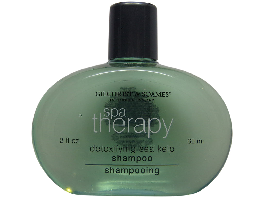 Gilchrist & Soames Spa Therapy Detoxifying Sea Kelp Shampoo Lot of 6 each 2oz Bottles. Total of 12oz.