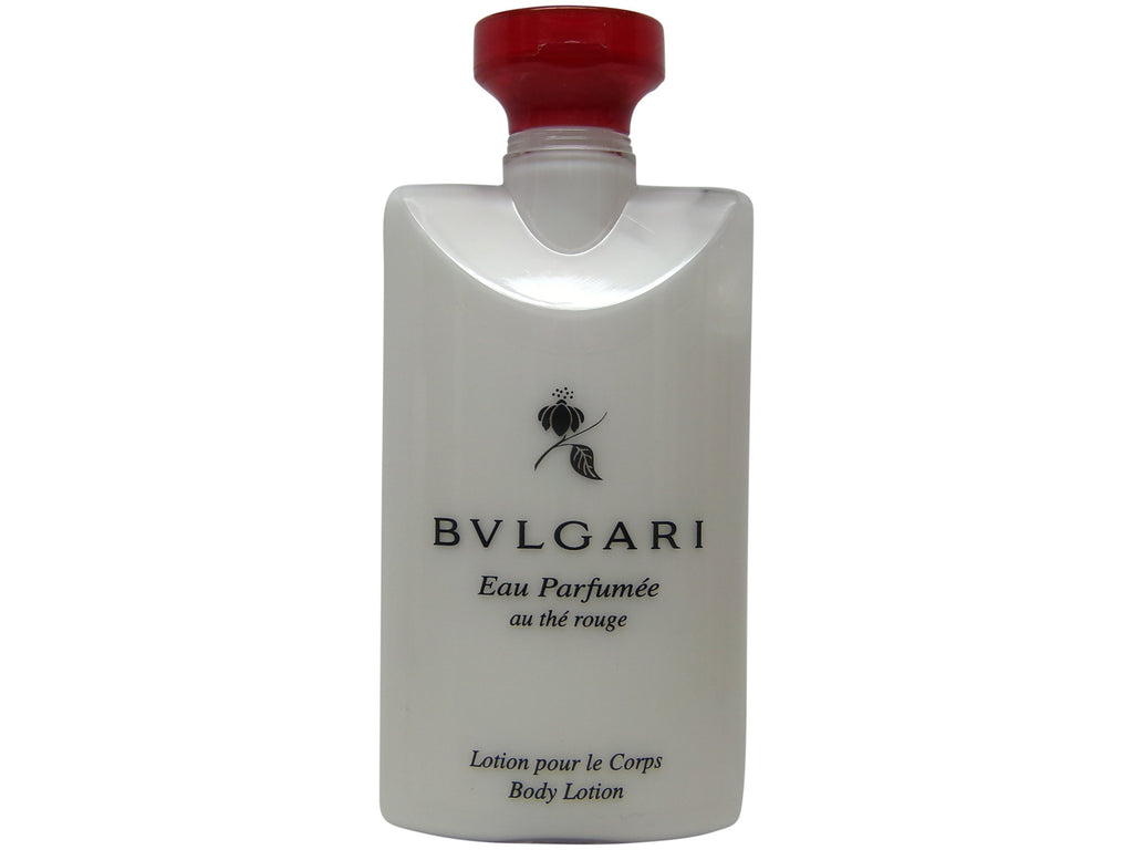 Bvlgari Eau Parfumee Red Tea Body Lotion, 2.5 oz. Set of 3
