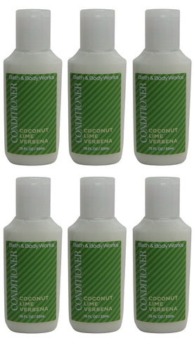 Bath & Body Works Coconut Lime Verbena Conditioner Lot of 6. Total of 4.5oz