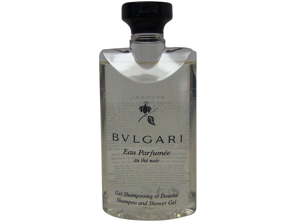 Bvlgari Eau Parfumee Au the Noir Shampoo and Shower Gel, 2.5 oz. Set of 3