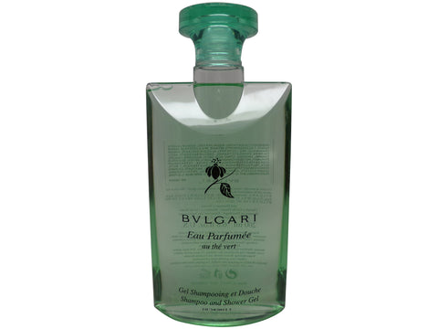 Bvlgari au the Vert (Green tea) Shampoo and Shower Gel 6.8oz 200ml