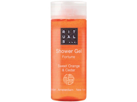 Rituals Radisson Fortune Sweet Orange Cedar Shower Gel. Lot of 20 Total of 17oz
