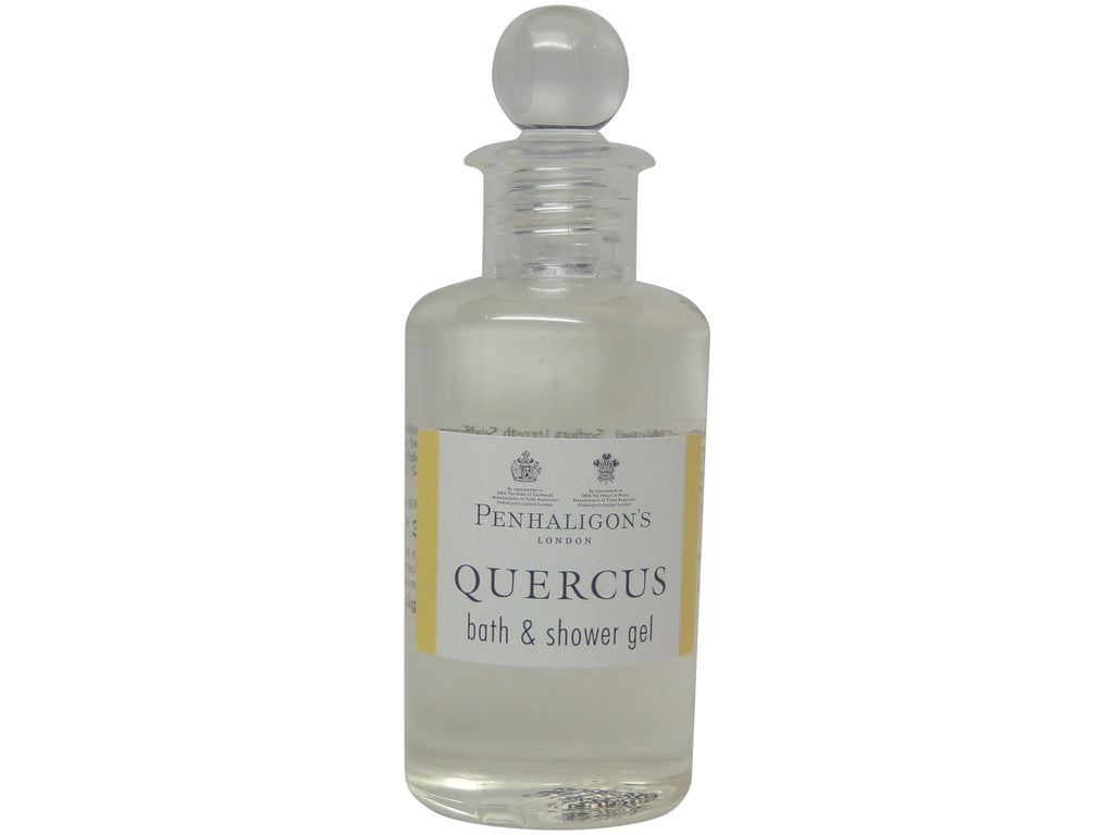 Penhaligons Quercus Bath & Shower Gel lot of 4 each 3.4oz Bottles.Total of 13.6oz