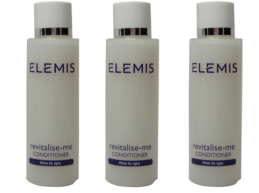 Elemis Revitalise Me Conditioner lot of 3 bottles each 1.7oz. Total of 5.1oz