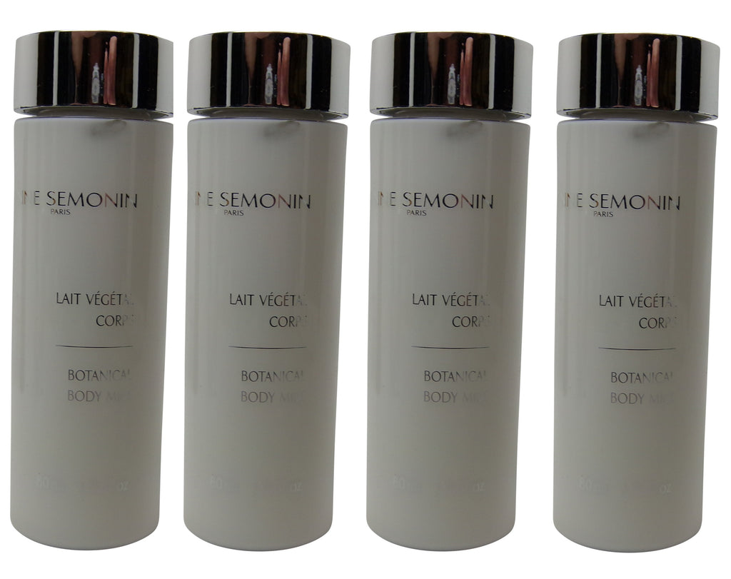 Anne Semonin Body Lotion lot of 4 each 2.7oz Bottles.Total of 10.8oz