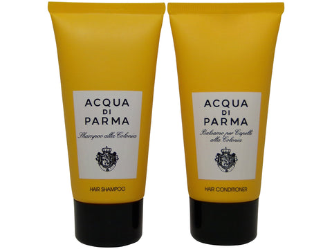 Acqua Di Parma Colonia Hair Shampoo & Conditioner lot of 2 (1 of each) 2.5oz Bottles.