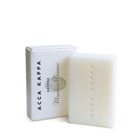 Acca Kappa Soap, White Moss - Set of 3, 3.5 Oz (100 G) Soaps