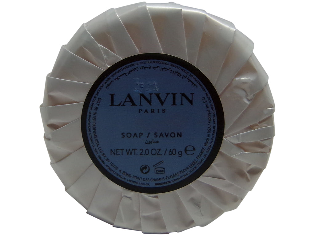Les Notes de Lanvin Orange Ambre Soap Lot of 2 Bars.Total of 4oz