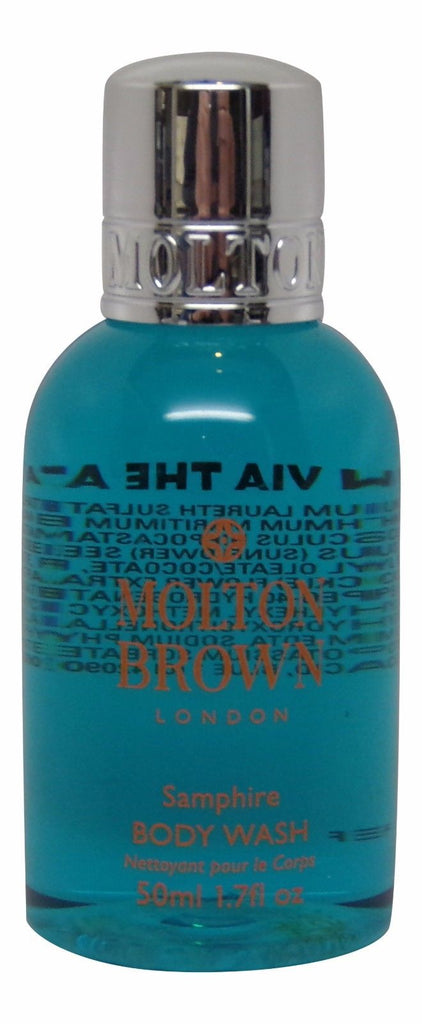 Molton Brown Samphire Body Wash Lot of 4 each 1.7oz bottles. Total of 6.8oz