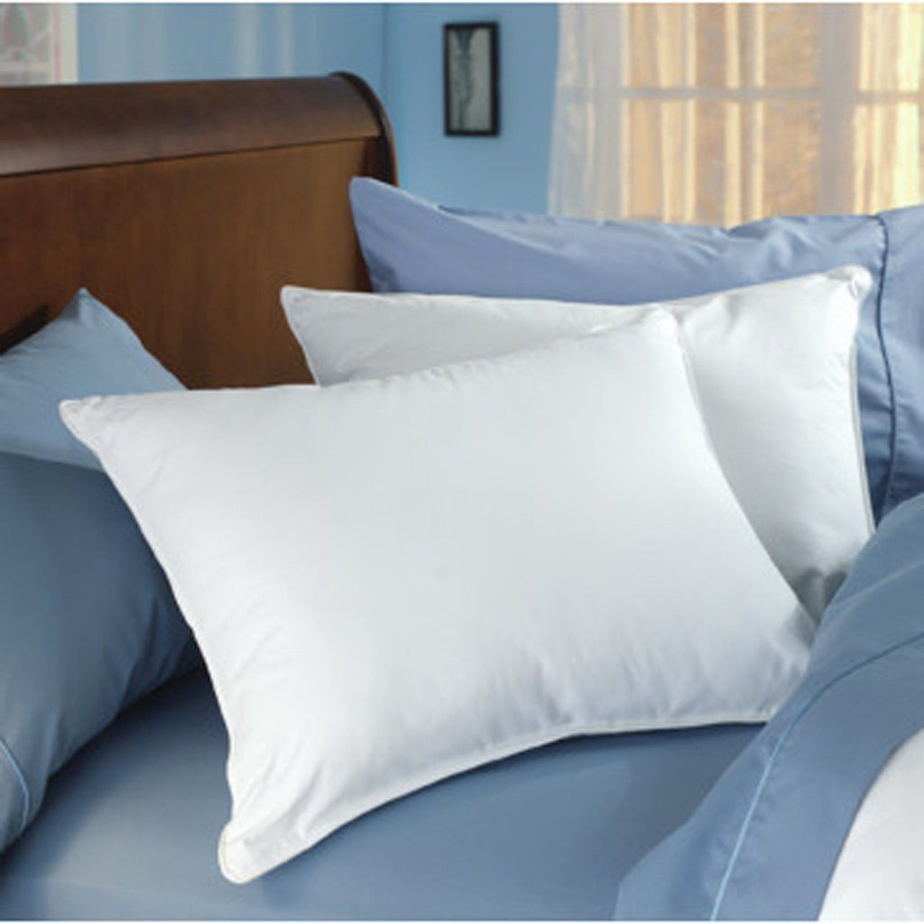 American Hotel Register-Registry Deluxe Silver Medium Density Queen Pillow