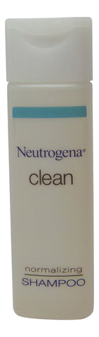 Neutrogena Clean Normalizing Shampoo lot of 10 ea 0.8oz Bottles Total 8oz