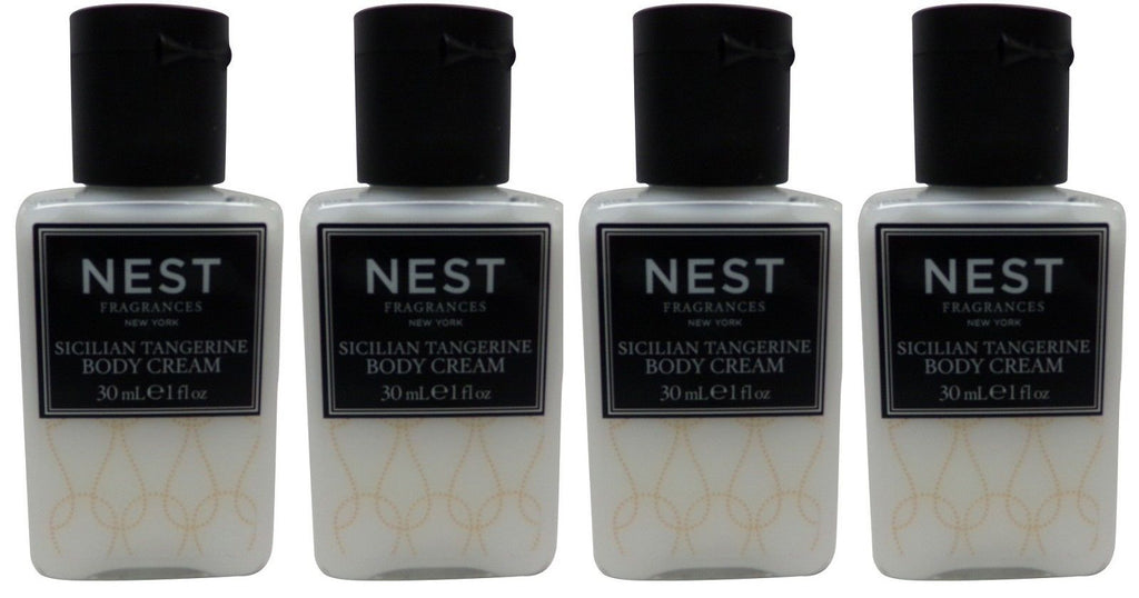 Nest Fragrances Sicilian Tangerine Body Cream lot of 4 (Lotion)Total of 4 oz
