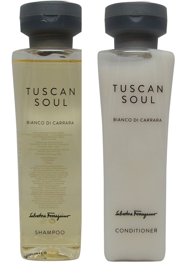 Salvatore Ferragamo Bianco Di Carrara Shampoo & Conditioner lot of 2 (1 of each) 2.9oz bottles