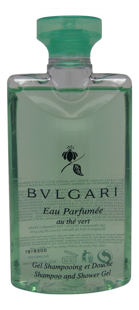 Bvlgari Green Tea Shampoo & Shower Gel lot of 6 each 2.5oz Total of 15oz