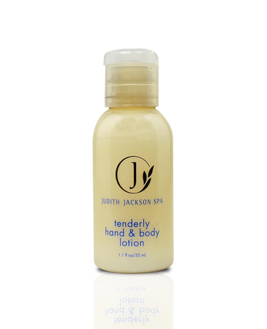 Judith Jackson Tenderly Hand and Body Lotion Lot of 18 each 1.1oz Bottles
